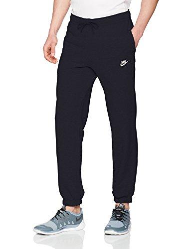 59ac1d5e Nike Sportswear Club Pant CF FT Pantalon Homme, Obsidian/White, FR : M
