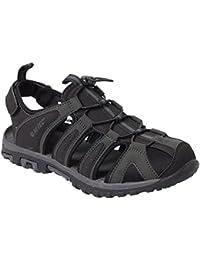 Hi-Tec–Hombre Cove Sandal de senderismo y de paseo, negro