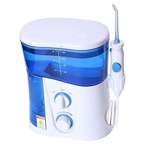 LWLJCFFF 1000Ml Flosser de Agua Irrigador bucal Dental Limpieza de SPA Dental Irrigador bucal con Hilo...