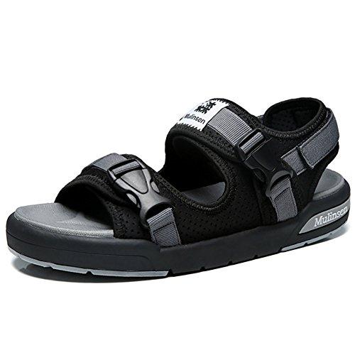 ZJM-Sandale Einstellbare Sandale Strand Schuhe Mann Sommer Slipper Outdoor Magic Tape (38-44 Größe) (Farbe : Grau, größe : 39) - Armee Müdigkeit Hose