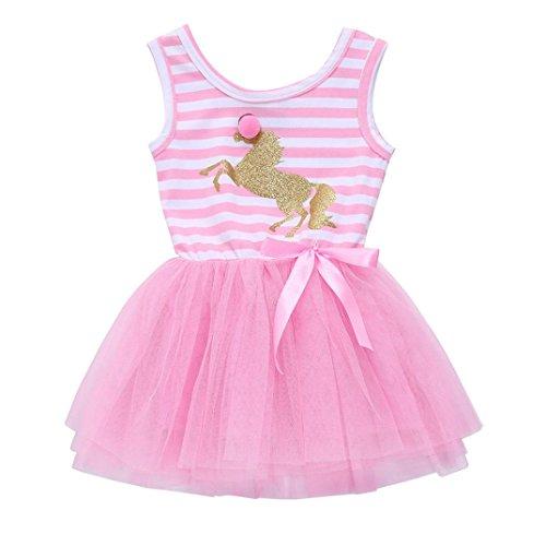 d2bd0b01e Faldas de Tul Cortas, Zolimx Niños Pequeños Bebé Niñas Unicornio ...