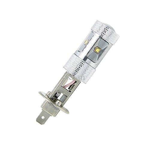 Akhan 30WH1–Lampada a LED bianco ad alta potenza CREE H112V per fendinebbia abbaglianti anabbaglianti diurne luce Xenon Bianco