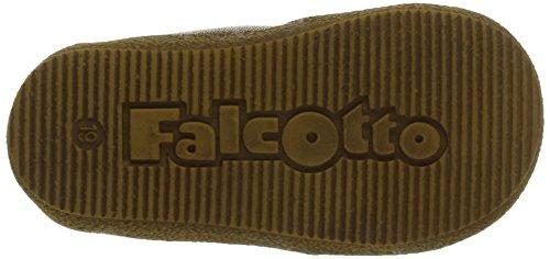 Naturino Falcotto 1426, Chaussures premiers pas bébé garçon Marron (Moro/Petrolio)