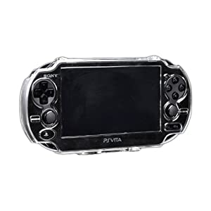 Assecure Crystal Clear Hard Case Cover Shell Protector for Sony PS Vita (PSP PSV) by Assecure