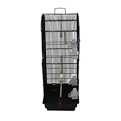 Oypla XL Large Metal Bird Cage Budgie Canary Finch Parrot Birdcage from Oypla