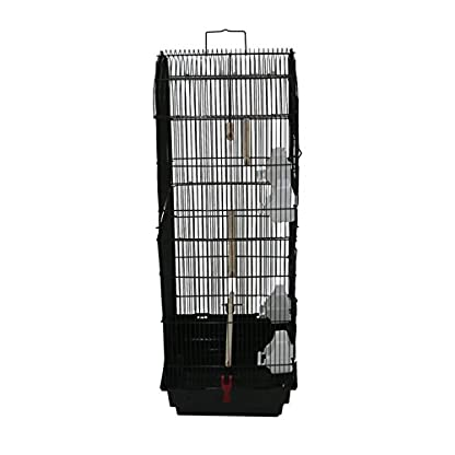 Oypla XL Large Metal Bird Cage Budgie Canary Finch Parrot Birdcage 2