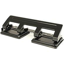 Pavo 8036554 Perforateur 4 trous Noir