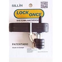 Lock Once Candado Antirrobo para Sillín de Bicicletas