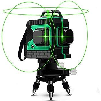 Niveau Laser 12 Lignes 3d Autonivelantes 360 Horizontales Et