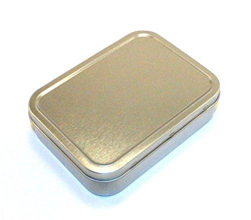 Survival Tin, Survival-Dose, 25g / 50g, luftdicht, silberfarben, 50 g -