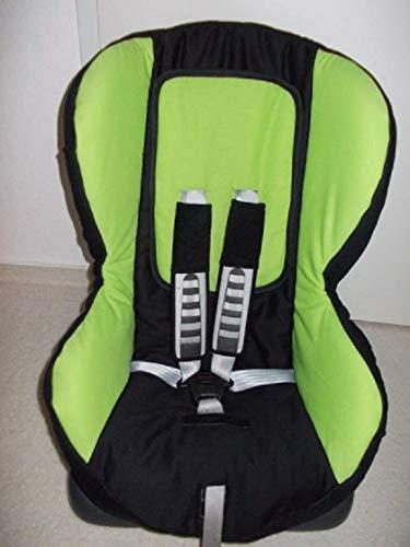 Römer Duo Plus Bezug Ersatzbezug schwarz grün