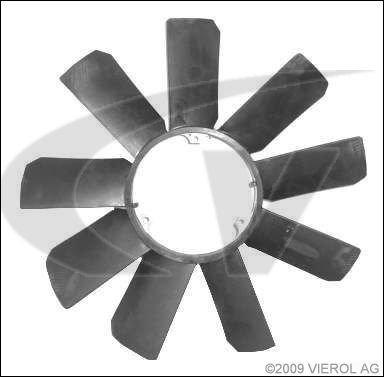 Vemo V30-90-1660 Girante, Raffreddamento