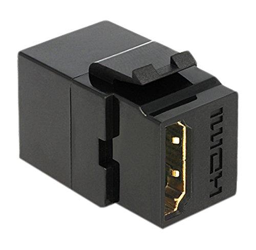 DELOCK Keystone Modul HDMI Buchse > HDMI Buchse schwarz