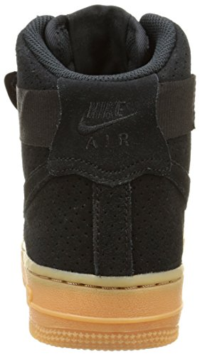 Nike Damen Wmns Air Force 1 Hi Suede Sport & Outdoorschuhe Black/Black