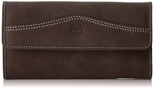 Timberland tb0m3027 portafoglio donna, marrone (black coffee 544), 1x9.5x18 cm (w x h x l)