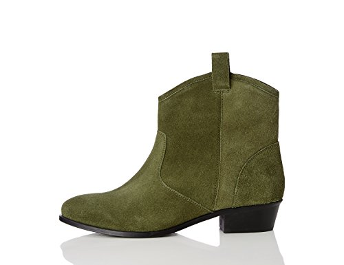 find-western-pull-on215-womens-desert-boots-green-khaki-4-37-eu