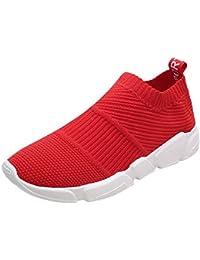 Tefamore Hombre Calzado Deportivo Casual Respirable Zapatos de Respirables Liviano Fitness Deportivo Entrenadores para Running Sneakers