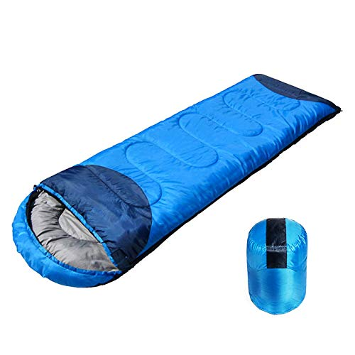 Shopper52 Waterproof Sleeping Bag Outdoor Camping Hiking Travel Single Thick Carry Bed Camping Bag Travel Sleeping Bag Portable Foldable Sleeping Bag - SLEEPINGBAG