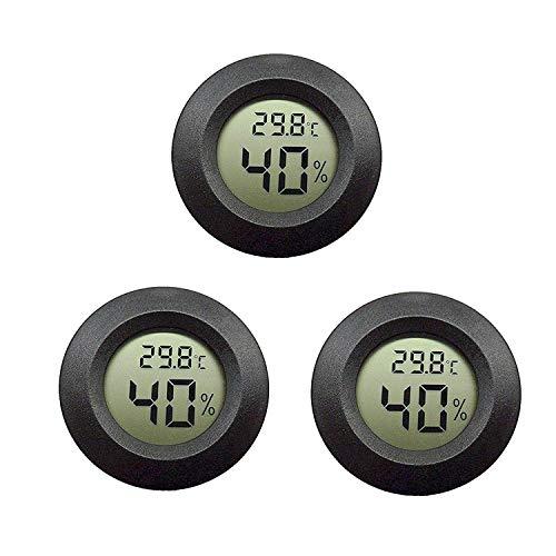 EEEKit - Paquete 3 Termómetro higrómetro Monitor