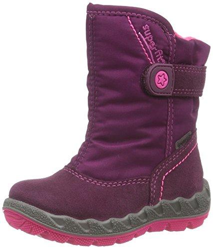 Superfit  ICEBIRD, Bottes de neige de hauteur moyenne, doublure chaude filles Rose - Pink (MAGIC KOMBI 41)