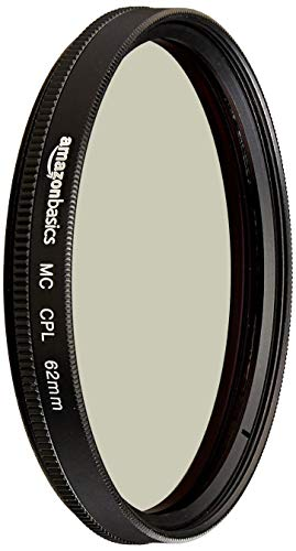 AmazonBasics Zirkularer Polarisationsfilter - 62mm