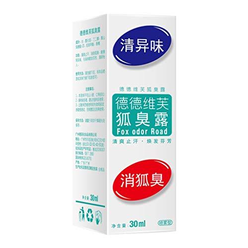 MA87 Stoppt den Schweißtau Körpergeruch Deodorant Achsel Deodorant Körpergeruch Reiniger 30ml - Reizende Holz-cd / Dvd