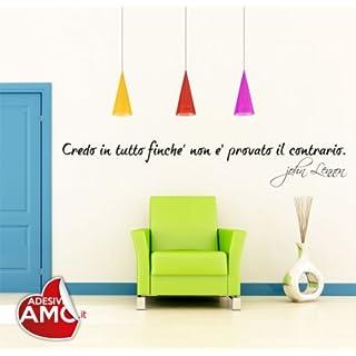 Adesiviamo wall0000499_ B M Wall Sticker, PVC, White, 120x 28cm