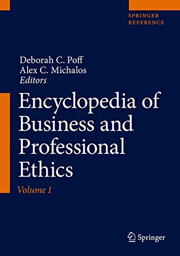 Encyclopedia of Business and Professional Ethics