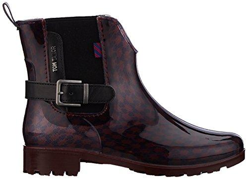 Tom Tailor 3792301, Stivali Donna Rot (Bordo)