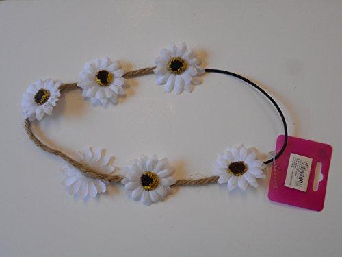 Mädchen Damen Sonnenblumen Sommer Elastisch Headwrap Haarreif