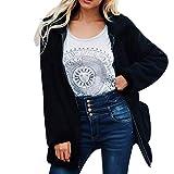 ITISME Damen Strickjacke Damen Damen Warme Künstliche Wollmantel Reißverschluss Jacke Winter Parka Oberbekleidung