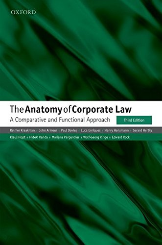THE ANATOMY OF CORPORATE LAW P 3E [Paperback] [Jan 01, 2017]