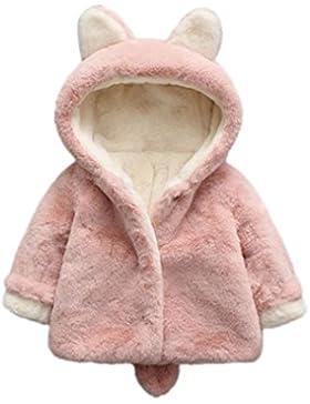 [Patrocinado]Ropa Bebé, Amlaiworld Bebé niño niña de otoño invierno encapuchados abrigo capa chaqueta gruesa ropa caliente...