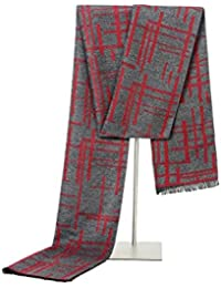 Sciarpe A Righe Da Uomo Inverno Autunno Cashmere Caldo E Casual Con  Confezione Regalo Squisita c5174920e673