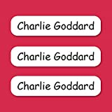 20 Personalised Iron On Name Labels Stickers