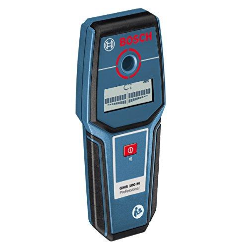 Preisvergleich Produktbild Bosch Professional GMS 100 M, 100 mm Erfassungstiefe, Trageschlaufe, 1 x 9 V-6LR61 (Block) Batterie