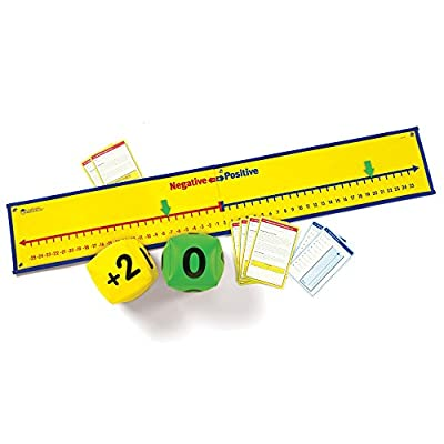 Learning Resources Positive & Negative Number Line Activity Set from Learning Resources (UK Direct Account)