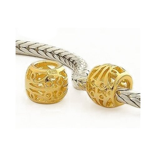 Seestern Baby Kostüm (Andante-Stones 925 Sterling Silber Gold Bead
