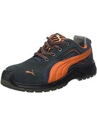 d9f1c2870f619a Puma 643620.47 Chaussures de sécurité Omni Flash Low S1P SRC Taille 47,  Gris Orange