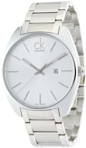 Calvin Klein Men's Analogue Quartz Watch with Stainless Steel Bracelet – K2F21126