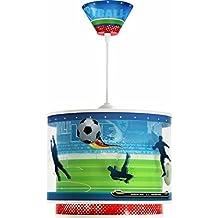 Dalber 60462 - Lámpara colgante, diseño fútbol