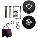 2er 40mm Kofferrollen Gepäckkoffer Rollen Räder Ersatzräder Reparaturachsen Repair Kit