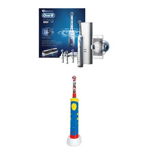 Oral-B Oral-B Genius 9000 White Elektrische Zahnbürste inklusive gratis Zahnpflege-Set