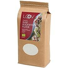 Harina de trigo sarraceno Cru orgánico sin gluten (1 kg) ...