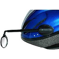 Espejo Retrovisor Irrompible Orientable para Casco de Ciclismo Universal Extensible Reversible Bicicleta 3597