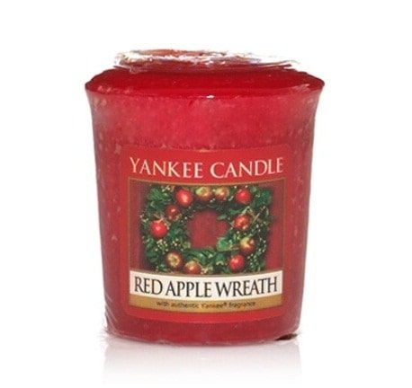 Yankee Candle klein Votivekerzen Sampler Red Apple Wreath Set x18 St. (Red Yankee Wreath Candle Apple)