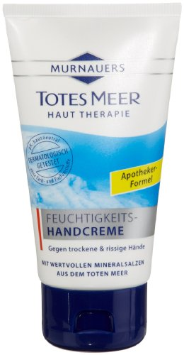 Murnauer / Salthouse Totes Meer Feuchtigkeits-Handcreme, 75 ml, 3er Pack (3 x 75 ml)