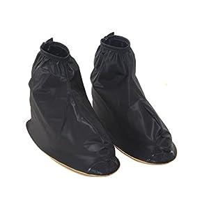 Anti-Rutsch wiederverwendbar PVC Abdichtung Regendicht Anti-Rutsch Rindfleisch Tendon unten Verschleißfest Regen Überschuhe Überziehschuhe Boot gear-great für A Trip Best Xmas Geschenk