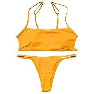 Women's Sexy Halter Multicolor Sexy Swimwear Swimwear Bikini Tankini Beach