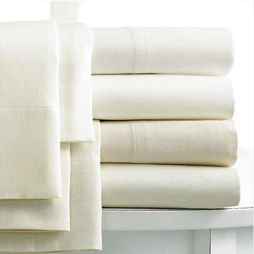 Ägyptische Baumwolle Vorhang (Linens Limited Spannbettlaken - Extrahoch, ägypt. Baumwolle, FZ 400 - Creme - 180 x 200cm)